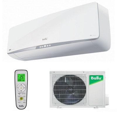 Настенная cплит-система Ballu серии Platinum DC Inverter White Edition BSPI-10HN1/WT/EU